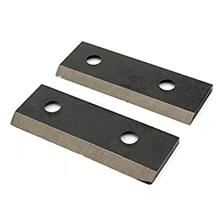 KUNSE-2Pcs-Set-Stahl-Schredder-Hcksler-Messer-Fr-Mtd