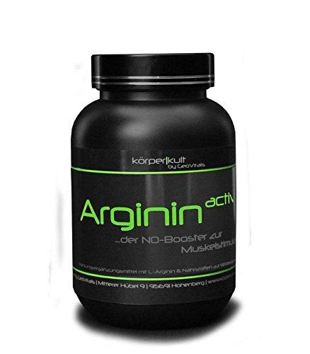 Arginin active, 300 Kapseln, NO-Booster von KörperKult