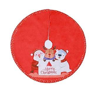 Milopon-Weihnachtsbaum-Decke-Weihnachtsbaumdecke-Baumdecke-Weihnachts-Dekorationen-Weihnachtsbaum-Abdeckung-Runde-Christbaumdecke-fr-Weihnachtenbaum-120cm
