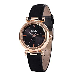 KiyomiQvQ-Markenuhren-Unregelmiger-Edelstahl-Gehuse-Damen-Uhren-Qualitt-Schne-Lederband-Armbanduhr-luxurises-Elegant-Zifferblatt-Damenuhr-Frauen-Analog-Quartz-Watch-Schmuck-Quarzuhr