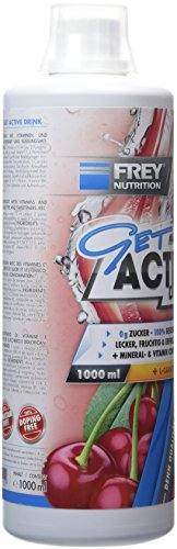 Frey Nutrition Get Active Drink – Kirsche, 1er Pack (1 x 1 kg)