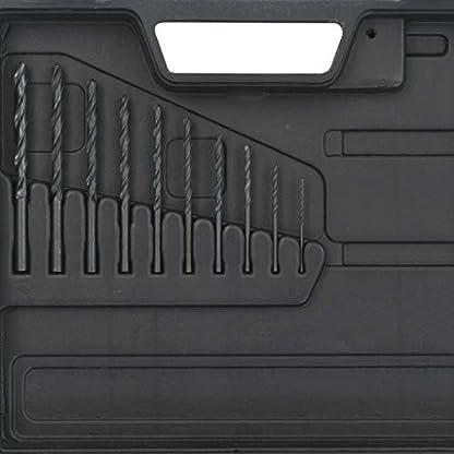 Festnight-15-teiliges-Druckluftbohrer-Set-inkl-1-Druckluftbohrer-10-Spiralbohrer-1-lbehlter-1-Bohrfutterschlssel-1-Mini-Druckluftler-und-1-Nippel