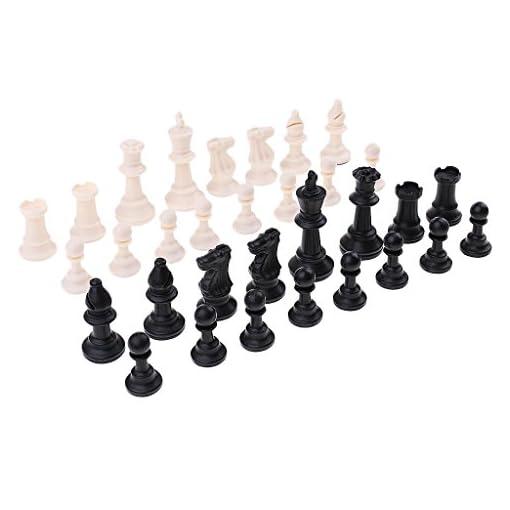 Baoblaze-32er-Set-Ersatz-Schachfiguren-Ersatzfiguren-aus-Kunstoff