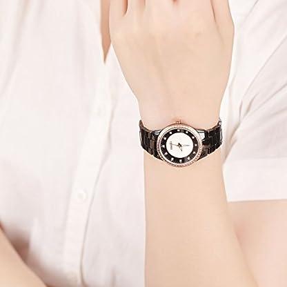 Time100-Armbanduhr-Damenuhr-Quarzuhr-Mdchenuhr-Keramik-Band-W50375L03A