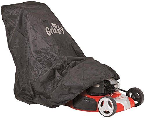 Grizzly-Universal-Abdeckhaube-Abdeckplane-Schutzhlle-Haube-Garage-fr-die-meisten-Rasenmher-bis-56-cm