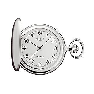Regent-Taschenuhr-Mechanisch-Silber-Arabisch-P02