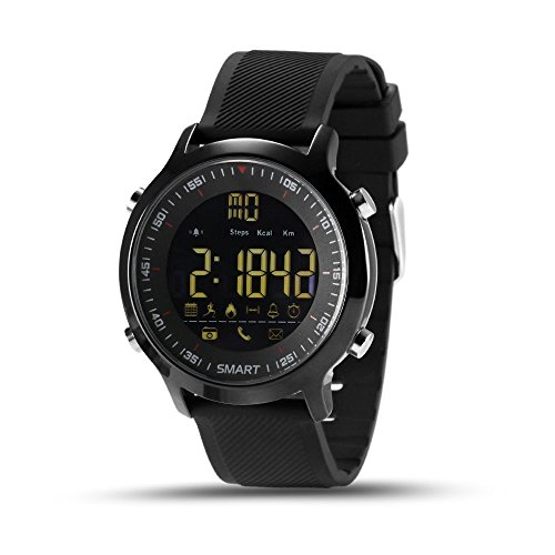kxcd-Bluetooth-Smart-Watch-EX18-Bluetooth-40-Smart-Watch-5-ATM-wasserdicht-kompatibel-mit-Android-iOS-System-Smartwatch-Schrittzhler-Schwimmen-Sleep-Monitor-Call-SMS-Reminder-Armbanduhr