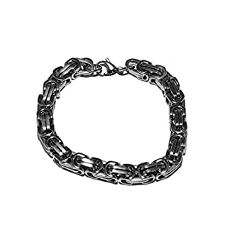 Original-Enez-Edelstahl-Armband-Armreifen-Armkette-Lnge21cm-B70mm-R1662-Geschenkbeutel