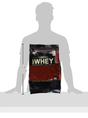 Optimum Nutrition Whey Gold Standard Protein, Delicious Strawberry, 4,5 kg
