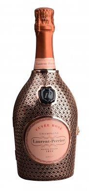 Rose-Brut-Champagne-AOC-in-Metallrobe-Laurent-Perrier