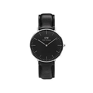 Daniel-Wellington-Classic-Damen-Armbanduhr-Analog-Quarz-Leder-DW00100145