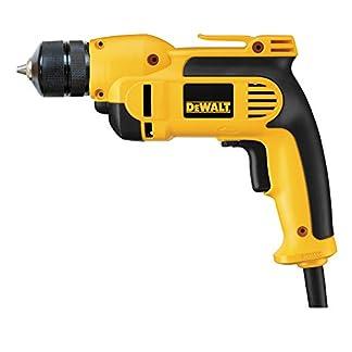 Dewalt-1-Gang-Bohrmaschine-701-Watt-10-mm-Vollmetall-Schnellspannbohrfutter-ideal-fr-przise-Bohrarbeiten-mit-kleinem-Durchmesser-in-Holz-und-Metall-DWD112S-QS