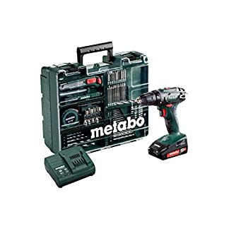 Metabo-602207880-Akku-Bohrschrauber-BS-18-Mobile-Werkstatt-Set
