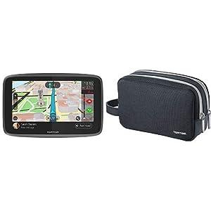 TomTom-GO-6200-Pkw-Navi-6-Zoll-mit-Freisprechen-Siri-und-Google-Now-Updates-ber-Wi-Fi-Lebenslang-Traffic-via-SIM-Karte-und-Weltkarten-TomTom-Universaltragetasche