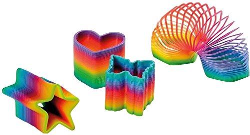4-teiliges-Regenbogen-Spiralen-Set-STERN-HERZ-ACHTECK-UND-SCHMETTERLING-fr-Party-und-Geburtstag-8cm-Durchmesser-Treppenlufer-Kinder-Geburtstag-Party-Spiel-Mitgebsel-Geschenk