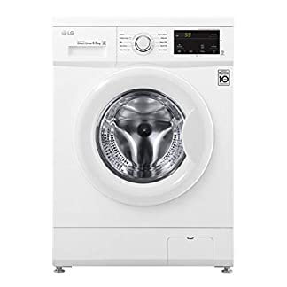 LG-Washing-Machine-FH2J3WDN0-Front-loading-Washing-capacity-65-kg-1200-RPM-Direct-drive-A-Depth-44-cm-Width-60-cm-White-LED