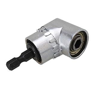 PIXNOR-Winkelschrauber-14-Hex-Drill-Bit-105-Grad-Schraubendreher-fr-Schraubenschlssel