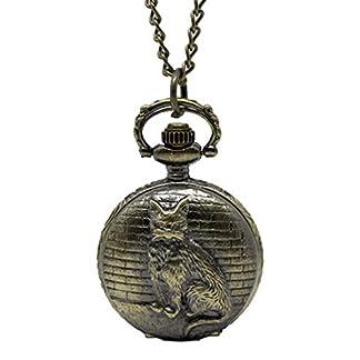 Godagoda-Antik-Nostalgie-Design-Taschenuhr-mit-Gravur-Batterie-Bronze-Dreidimensionale-Kaetze