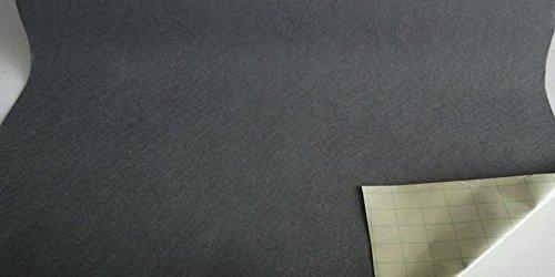 Fabrics-City GRAU KLEBEFILZE FILZ STOFF WOLLFILZ SELBSTKLEBEND STOFFE, 2791