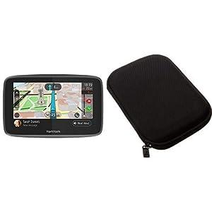 TomTom-GO-5200-Pkw-Navi-5-Zoll-mit-Freisprechen-Lebenslang-Traffic-via-SIM-Karte-und-Weltkarten-Smartphone-Benachrichtigungen-AmazonBasics-Hartschalenetuischwarz