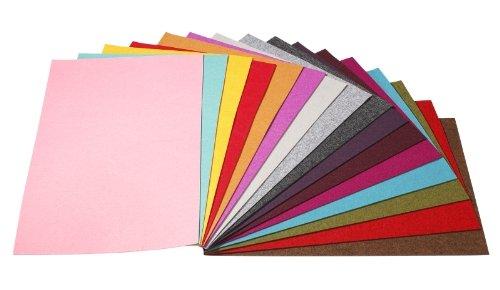 TRENDYfilz ca. 375 x 500 mm, 3 mm, apfelgrün