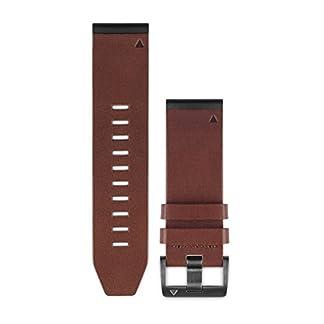 Garmin-Leder-Armband-26mm-Quickfit-Wechselarmband-Braun-26-mm