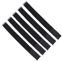 MagiDeal-5-Stck-Elastische-Krawatte-Band-fr-3-Bein-Rennen-Spiel-Zubehr-Schwarz