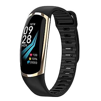 Chenang-Fitness-Armband-Fitness-Tracker-Smartwatch-Aktivittstracker-Pulsuhren-Smart-Watch-Schrittzhler-Fitness-Uhr-Vibrationsalarm-Anruf-SMS-Whatsapp-Beachtenfr-iOS-Android-Handy
