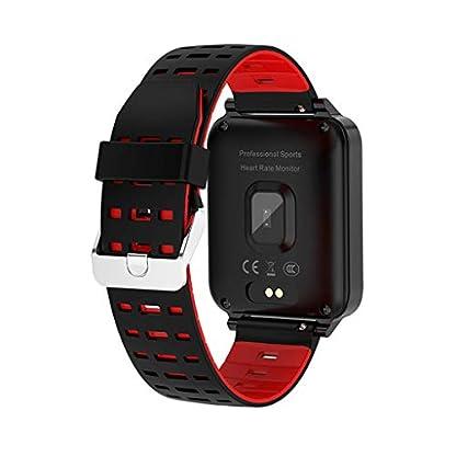 Chenang-Wasserdicht-IP68-Smartwatch-Health-Fitness-Schlafmonitor-Unisex-Pulsuhren-und-Fitness-Tracker-X9-154-Zoll-Fitness-Uhr-Gesundheits-Laufuhr