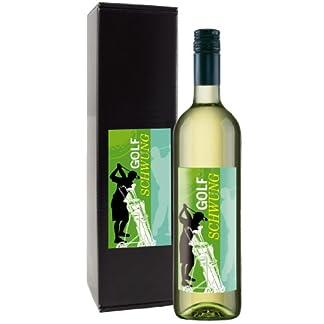 Wein-Geschenk-Golfschwung