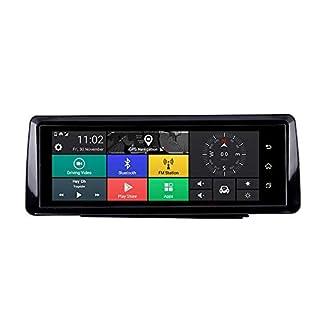 TOOGOO-Faltbares-Auto-Dvr-10-Zoll-Dash-Cam-Android-51-GPS-Navigation-Doppel-Objektiv-Kameras-Auto-Recorder-Voll-Hd-1080P-Auto-Dash-Kamera-fr-Chery-Tiggo-Sonata-3G