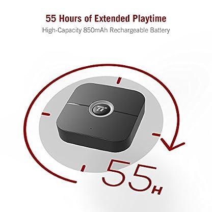 Bluetooth-Empfnger-Aux-TaoTronics-Bluetooth-Adapter-Audio-55-Stunden-Spielzeit-15m-Bluetooth-41-Stereo-Adapter-35mm-Aux-RCA-Kabelloser-Hi-Fi-Audio-Adapter-fr-stereoanlage-Heim-HiFi-Auto