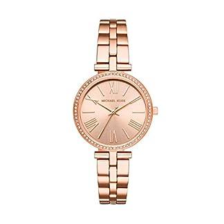 Michael-Kors-Damen-Analog-Quarz-Uhr-mit-Edelstahl-Armband-MK3904