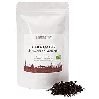 GABA-Tee-BIO-Schwarzer-Gabaron-Gabalon-Tee-50g-im-wiederverschliebaren-Beutel