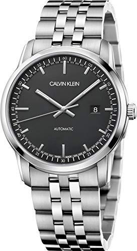 Calvin-Klein-Herren-Analog-Automatik-Uhr-mit-Edelstahl-Armband-K5S3414Y