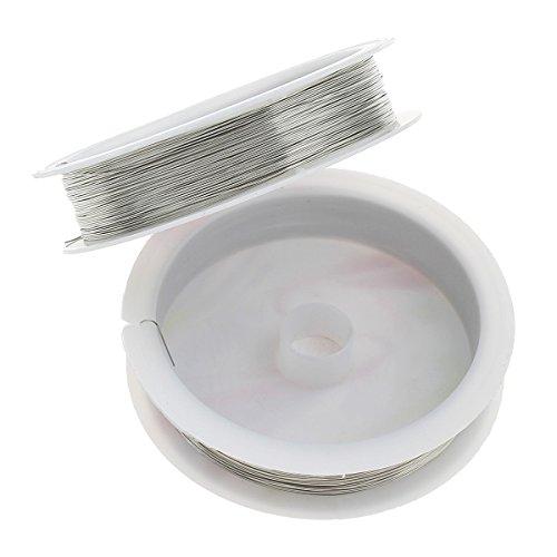20 meter KUPFERDRAHT 0,3mm Silber Lackdraht Basteldraht SCHMUCKDRAHT Silberdraht Kupfer Draht Bastelschnur Kupferfaden Schmuckband C36