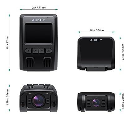 AUKEY-Dashcam-Dual-1080P-Front-und-Rck-Autokamera-mit-170-Weitwinkel-Superkondensator-WDR-Nachtsicht-Dash-Cam-mit-G-Sensor-Bewegungserkennung-Loop-Aufnahme-und-Dual-Port-Kfz-Ladegert