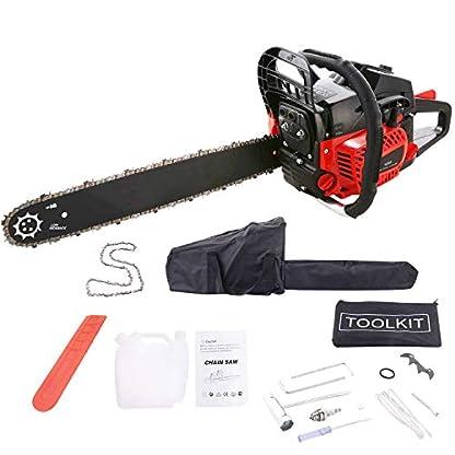 Kettensge-52-cm-30-PS-Sgeblatt-51-cm-1-Ketten-und-Tasche-inkl-Tool-Kit-mit-Montagewerkzeug