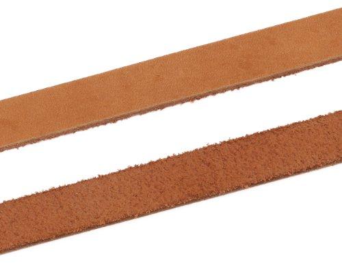 AURORIS – Lederband aus Nubukleder – Länge / Farbe wählbar