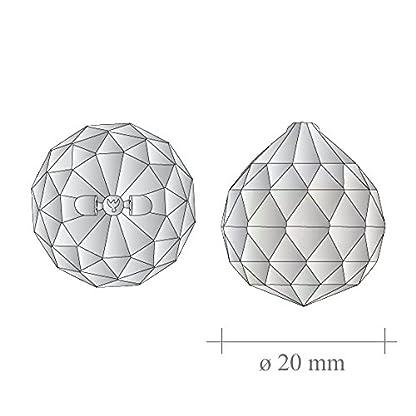 Kristallglaskugel–20-mm-4-Stck-30-Bleikristallkugel-Regenbogenkristall-zum-aufhngen-Fensterdeko-fr-Feng-Shui-und-Waldorf-Kristallglas-geschliffene-Kristallkugeln
