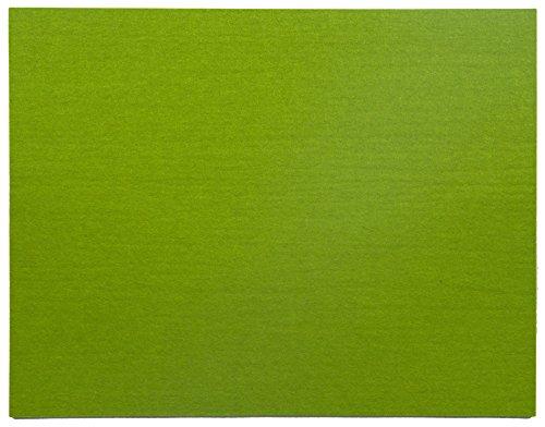 Hey-Sign Filz Untersetzer Tischsets maigrün 35cm x 45cm rechteckig 300104530