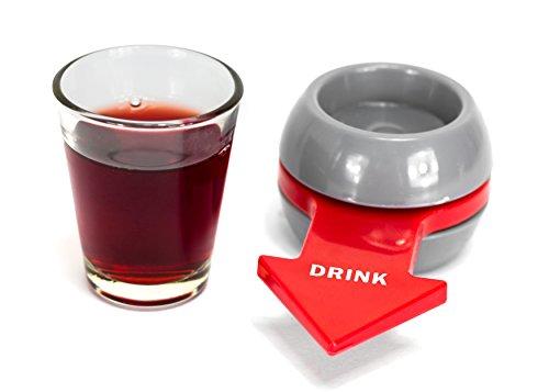 Trendario-Trinkspiel-Shot-Spinner-inkl-Schnapsglas-Schnapsdrehen-Partyspiel-wie-Flaschendrehen