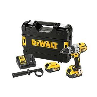 DeWalt-Schlagbohrschrauber-18-Volt-Akku-Dreigang-11-stufiges-Drehmomentmodul-drei-Stufen-LED-mit-77-Lumen-inkl-2x-Akkus-System-Schnellladegert-TSTAK-Box-und-Zubehr-DCD996P218