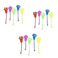 Ndier-15er-Sticky-Hand-Party-Favors-Wacky-Stretchy-Glitter-Sticky-Hnde-Sticky-Fingers-Sinnes-Spielzeug-fr-Kinder-Geburtstags-Party-zufllige-Farbe