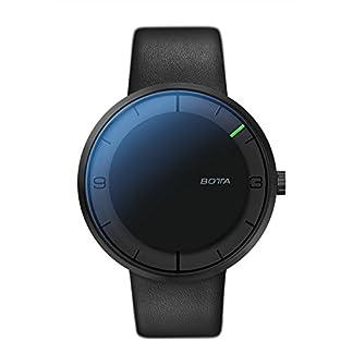 BOTTA-Design-NOVA-Plus-Herren-Einzeigeruhr-Analog-Automatik-mit-Lederarmband-850000