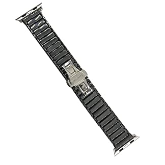 Baoblaze-Armband-Keramik-Ersatz-Uhrenarmbnder-Uhrenarmband-Watch-Band-Ersatzarmband-fr-IWatch-Serie-1-2-3
