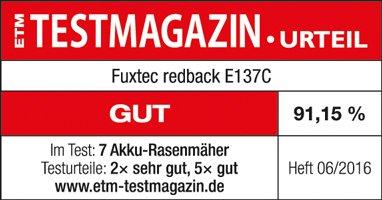 Fuxtec-Redback-Akku-Rasenmher-E137C-by-37-cm-40V-Lithium-li-Batterie-von-Samsung-mit-One-Battery-Fits-All-fr-Alle-Redback-Gerte-ETM-Testmagazin-Urteil-Gut