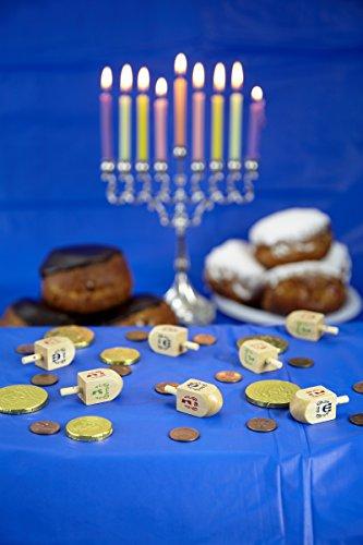 Chanukka-Kreisel-Kreisel-fr-Chanukkah-aus-Holz-Preis-fr-4-Hanukkah-Dreydle-sewiwon