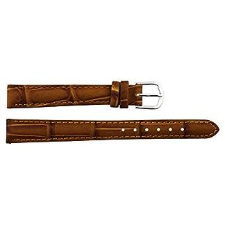 Moog-Paris-Braun-Kalbsleder-Uhrenarmband-Dornschliee-12mm-Ersatzband–B12001