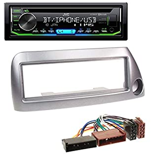 caraudio24-JVC-KD-R992BT-Bluetooth-MP3-CD-AUX-USB-Autoradio-fr-Ford-Ka-bis-2008-Silber-metallic